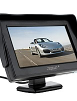 cheap -ZIQIAO 4.3 inch Car Rearview Monitor With Stand Reverse Backup Camera High Quality