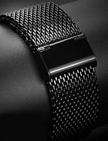 abordables -Bracelet de Montre  pour Apple Watch Series 3 / 2 / 1 Apple Sangle de Poignet Bracelet Milanais Acier Inoxydable