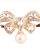 cheap -Women's Brooches Rhinestone Fashion Alloy Bowknot Jewelry For Gift Daily