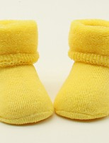cheap -Unisex Socks & Stockings,All Seasons Cotton Yellow Green