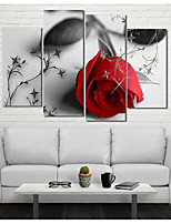 Stretched Canvas Print Classic,Five Panels Canvas Vertical Panoramic Print Wall Decor Home Decoration