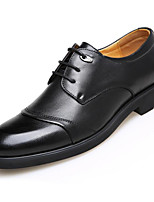 cheap -Men's Shoes PU Spring Fall Comfort Oxfords for Casual Brown Black