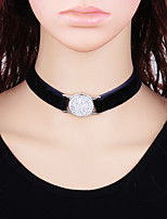 cheap -Women's Fashion Choker Necklace , Flannel Toison Alloy Choker Necklace , Fashion Gift Daily
