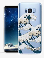 cheap -Case For Samsung Galaxy S8 Plus S8 Pattern Back Cover Lines / Waves Scenery Soft TPU for S8 Plus S8 S7 edge S7 S6 edge plus S6 edge S6