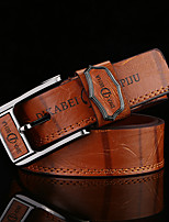 cheap -Men's Alloy Waist Belt,Camel White Brown Vintage Work Casual