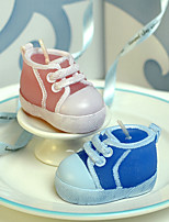 cheap -Birthday party supplies birthday candles baby shoes modeling craft men and women models
