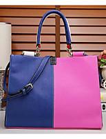 cheap -Women Bags PU Shoulder Bag Zipper for Casual All Season Blushing Pink Black White Blue