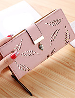 cheap -Women Bags PU Wallet Sequins for Formal All Season Almond Blushing Pink