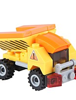 cheap -Building Blocks Backhoe Loader Toys Novelty Vehicles Stress and Anxiety Relief Decompression Toys Parent-Child Interaction ABS Kids