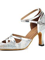 """preiswerte -Damen Modern Kunstleder Sneaker Training Randverzierung Niedriger Heel Gold Silber 1 """"- 1 3/4"""" Maßfertigung"""