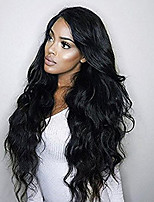 cheap -Body Wave Lace Front Human Hair Wigs Glueless 130% Density Brazilian Virgin Lace Wigs with Baby Hair For Black Woman