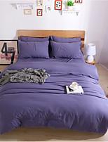 cheap -Duvet Cover Sets Contemporary 4 Piece Cotton Cloth Reactive Print Cotton Cloth 1pc Duvet Cover 2pcs Shams 1pc Flat Sheet