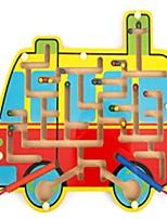 economico -Labirinto giocattolo Labirinto magnetico Autobus Giocattoli Aereo Autobus Scuola / Laurea Scuola Legno Pezzi