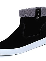 cheap -Men's Shoes PU Winter Fall Comfort Snow Boots Sneakers for Casual Yellow Gray Black