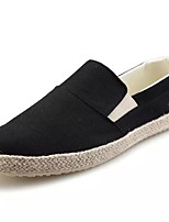 cheap -Men's Shoes Rubber Spring Fall Comfort Loafers & Slip-Ons Stitching Lace for Outdoor Blue Black