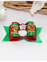 cheap -Hair Accessories Cute Casual/Daily Cartoon Bowknot Fabric Rainbow