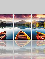 cheap -Canvas Print Comtemporary Classic Rustic Modern,Three Panels Canvas Vertical Print Wall Decor Home Decoration