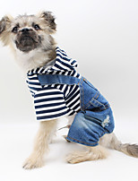 Dog Clothes/Jumpsuit Dog Clothes Casual/Daily British Blue