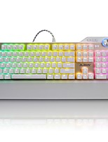 economico -ajazz-ak35 assassin rgb keyboard meccanica 107 key game metal keyboard lol