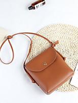 cheap -Women Bags PU Shoulder Bag Zipper for Casual All Season Brown Gray Black