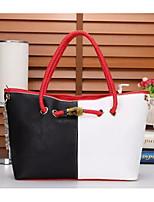 cheap -Women Bags PU Shoulder Bag Zipper for Casual All Season Blushing Pink Red Black White Blue