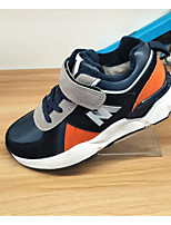 cheap -Boys' Shoes Cowhide Winter Fall Comfort Sneakers for Casual Black/Red Dark Blue