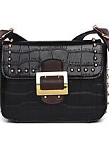 cheap -Women Bags PU Crossbody Bag Zipper for Casual All Season Black Red Purple Dark Green Brown