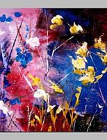 abordables -Pintada a mano Abstracto Modern Lienzos Pintura al óleo pintada a colgar Decoración hogareña Un Panel