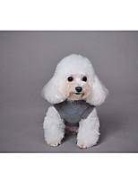 Недорогие -Собака Свитера Жилет Одежда для собак Для отдыха Животный принт Симпатичные Стиль В полоску Жаккард Животные Синий Розовый Костюм Для