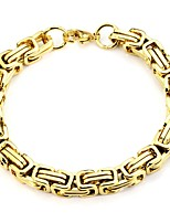 cheap -Men's Women's Chain Bracelet , Vintage Basic Stainless Steel Geometric Jewelry Daily Formal
