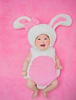 cheap -Baby Unisex Christmas Birthday Print Clothing Set,Cotton All Seasons Cute Sleeveless Blushing Pink