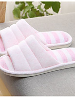 cheap -Women's Shoes Polyamide fabric Cotton Winter Comfort Slippers & Flip-Flops Flat for Casual Outdoor Pink Fuchsia Beige Black