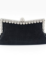 cheap -Women Bags Polyester Evening Bag Crystal Detailing Sequins for Wedding Event/Party All Season Silver Black Gold