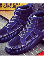 cheap -Men's Shoes Fabric Spring Fall Comfort Sneakers for Casual Outdoor Blue Gray Black