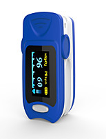 точный fs20a oled кончик пальца пульс оксиметр оксиметрия кровь кислород насыщенность монитор с батареями синий цвет