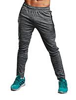 abordables -Para Hombre Adulto Pantalones de Running Secado rápido Transpirabilidad Sin costura Ligeras Medias/Mallas Largas Prendas de abajo Jogging
