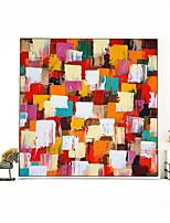 Недорогие -Мультипликация Масляные картины Предметы искусства,Сплав материал с рамкой For Украшение дома Предметы искусства в рамках Гостиная