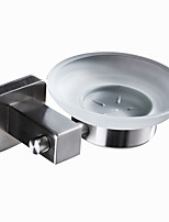 cheap -Modern Soap Dishes & Holders Creative Home Genuine Stainless steel Square Cut