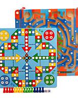 economico -Modellini di legno Labirinto giocattolo Labirinto magnetico Labirinto giocattolo Giocattoli Aereo Classico Stress e ansia di soccorso