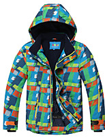 Kinder Skijacke Warm Schnelles Trocknung Wasserdicht warm halten Rasche Trocknung Windundurchlässig tragbar Atmungsaktivität UV-beständig