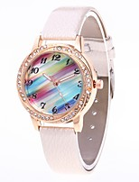 cheap -Women's Casual Watch Chinese Quartz N/A PU Band Luxury Black White Blue Red Pink Purple Khaki