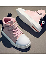 cheap -Boys' Shoes Cowhide Winter Fall Comfort Sneakers for Casual Pink Red Black