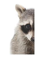 Животные Мода Наклейки Простые наклейки Декоративные наклейки на стены,Винил Украшение дома Наклейка на стену Стена Окно