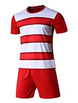 cheap -Kid's Soccer Sweatshirt Trainer Breathability Summer Striped Polyester Soccer/Football