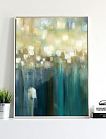 abordables -Caricatura Pintura al óleo Arte de la pared,Legierung Material con Marco For Decoración hogareña marco del art Sala de estar