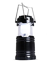 cheap -Lanterns & Tent Lights Emergency Lights LED 90 lm Automatic Mode LED Form Fit Camping/Hiking/Caving Black
