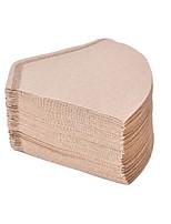 abordables -Filtro de papel café 100x para café café vertido por goteo de filtro de café 2-4 taza