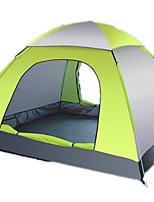 cheap -3-4 persons Camping Pad Tent Beach Tent Single Camping Tent One Room Automatic Tent Rain-Proof Wearable Travel Easy to Install for