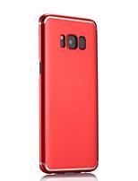 economico -Custodia Per Samsung Galaxy S8 Plus S8 Ultra sottile Effetto ghiaccio Custodia posteriore Tinta unica Resistente PC per S8 Plus S8 S7