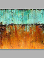 cheap -Hand-Painted Abstract Horizontal,Modern Canvas Oil Painting Home Decoration One Panel